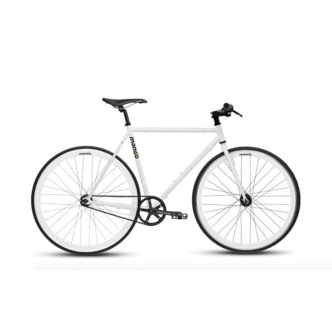 Mango Bikes weiss – Urban Bike